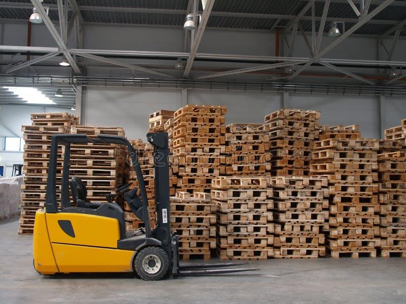 Forklift imagem de stock royalty free