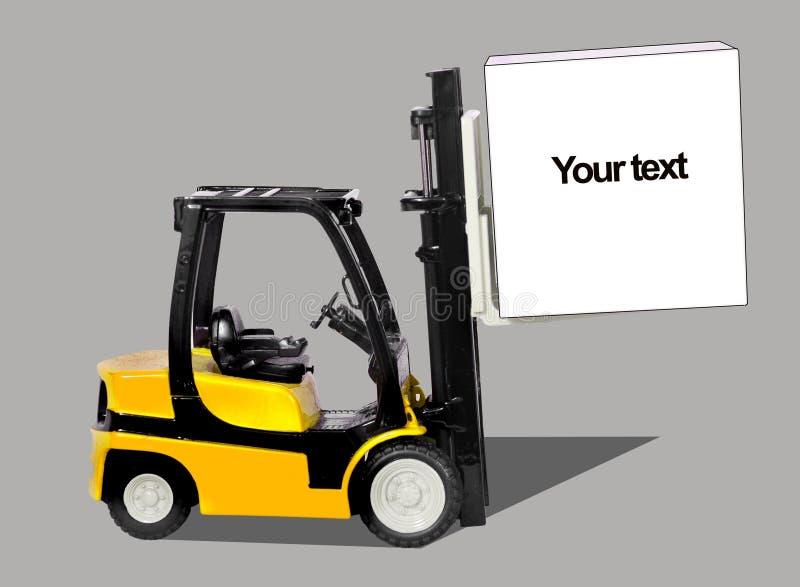 Download Forklift stock image. Image of excavator, heavy, logistics - 13315963
