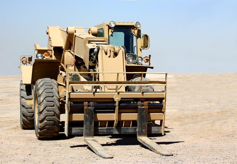 Forklift στοκ φωτογραφία με δικαίωμα ελεύθερης χρήσης