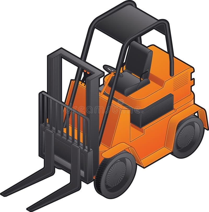 Forklift ilustração royalty free