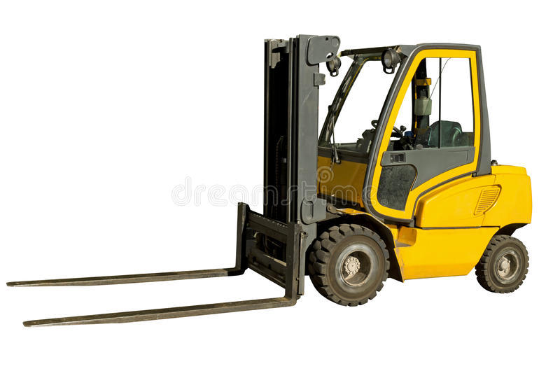 Download Forklift stock photo. Image of hydraulic, freight, drive - 27421812