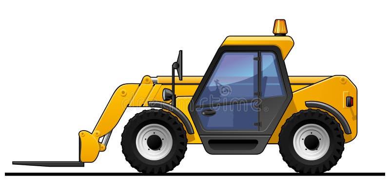 Forklift διανυσματική απεικόνιση
