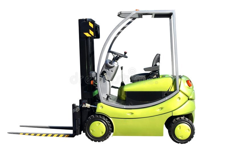 Download Forklift Royalty Free Stock Image - Image: 3438846
