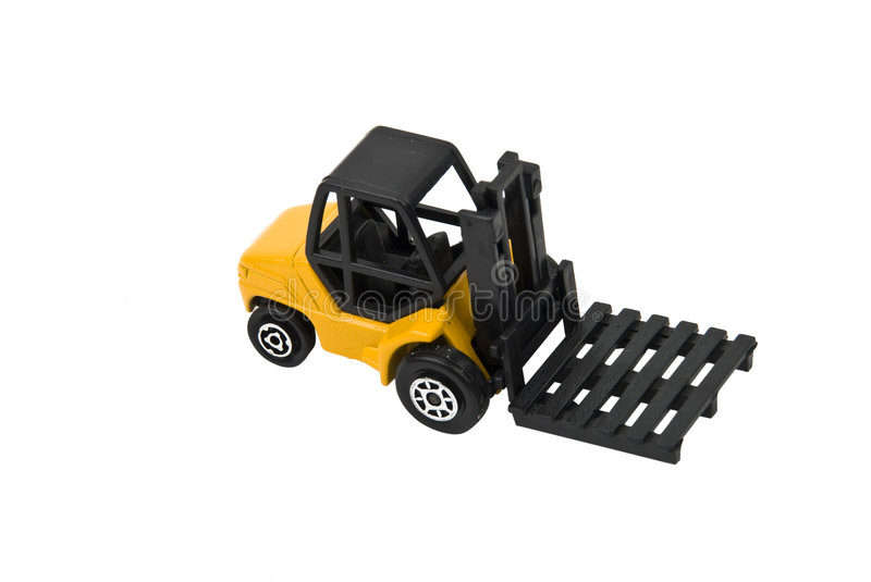 Download Forklift stock photo. Image of construction, machine, plastic - 8131818