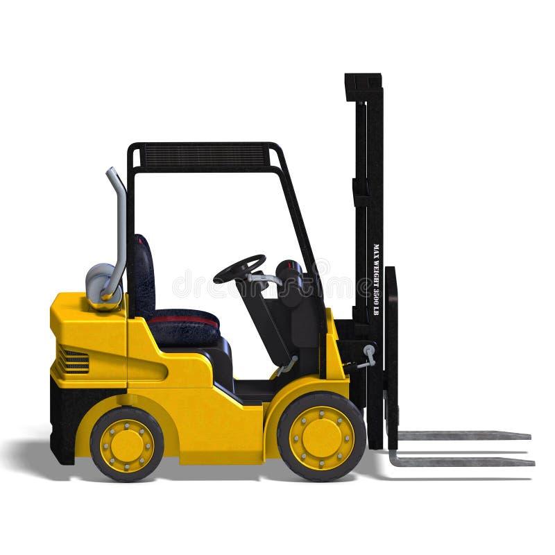 Free Forklift Stock Image - 9660031