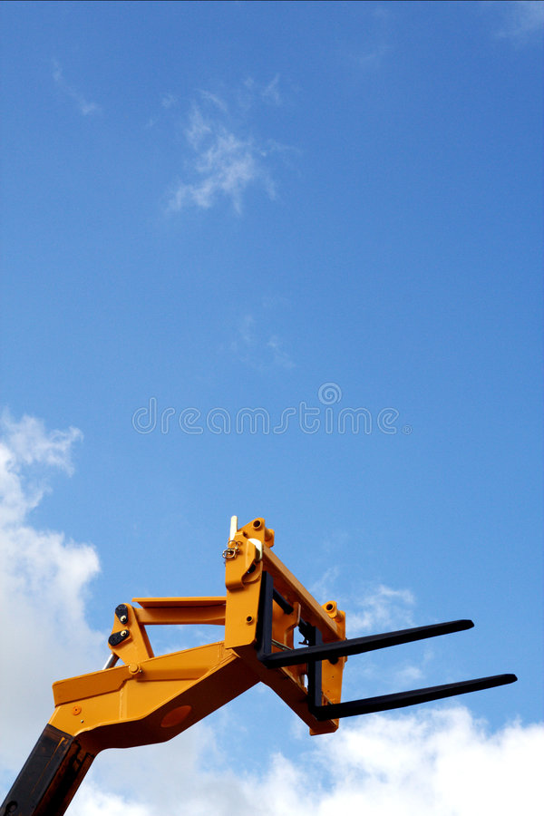 Forklift head royalty free stock images