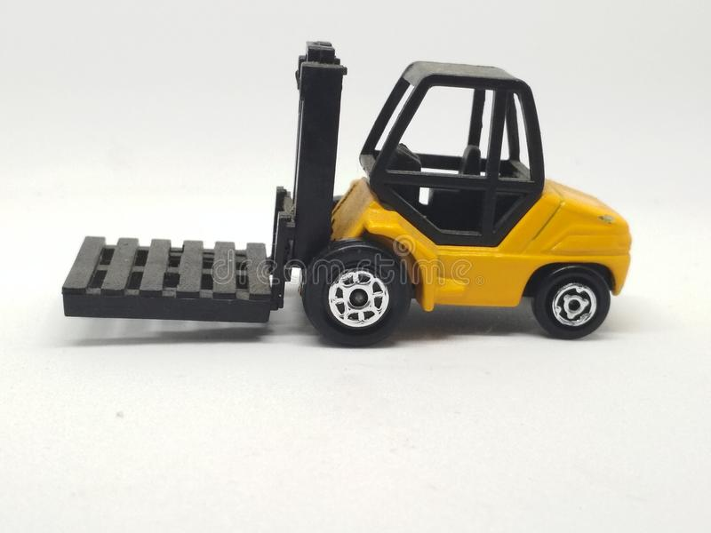 Forklift stock photography