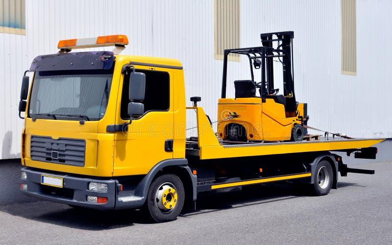 forklift transportu ciężarówka obrazy royalty free