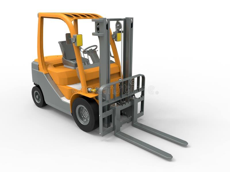 forklift truck ελεύθερη απεικόνιση δικαιώματος