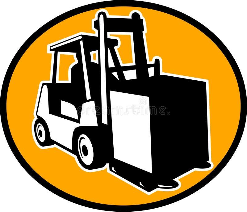 Download Forklift Truck And Operator Stock Vector - Illustration of industrial, artwork: 12411078