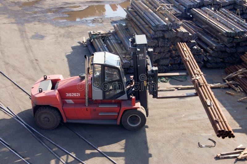Forklifts royalty-vrije stock afbeeldingen