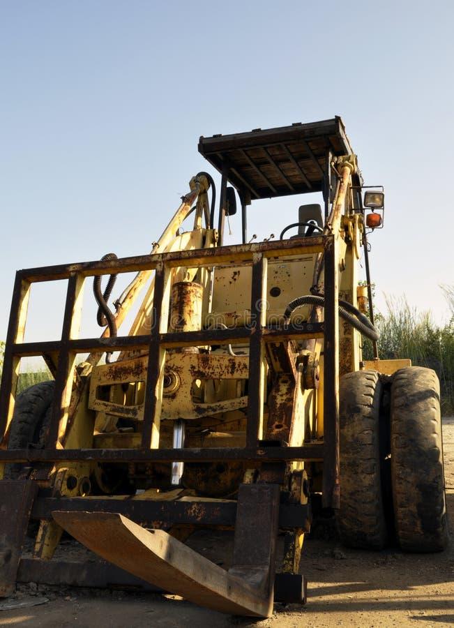 Forklifts do terreno áspero imagem de stock royalty free