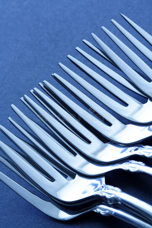 Download Forks stock photo. Image of dining, metal, dish, dinnerware - 2914844