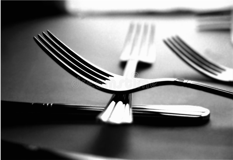 Download Forks stock photo. Image of eating, fork, dinner, food, forks - 39434