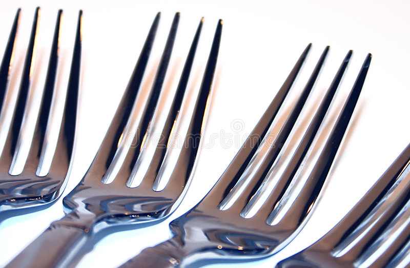 Download Forks stock image. Image of dish, setting, food, background - 63235