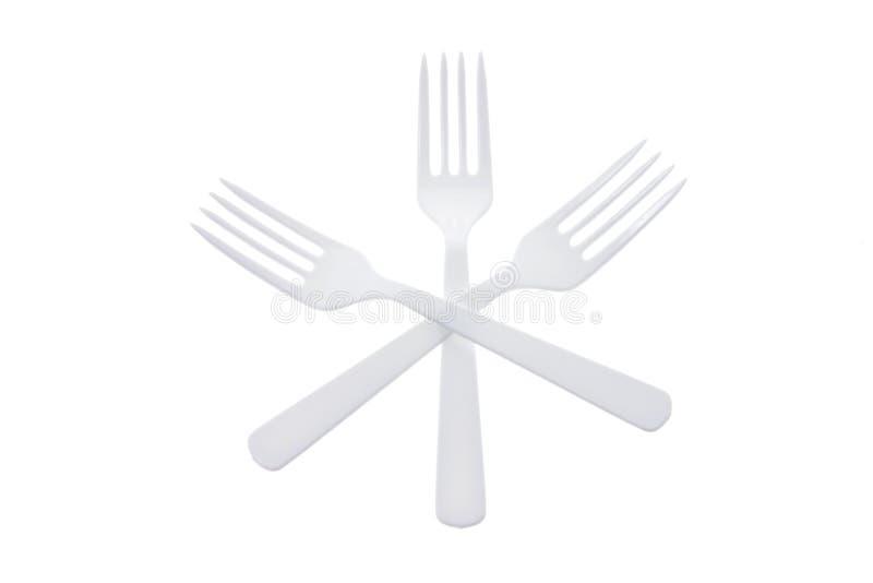 forks plast- arkivbild