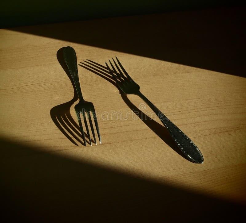 Download Forks stock photo. Image of eating, black, object, fork - 39073656