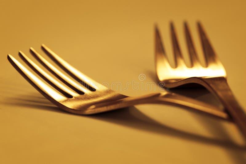 Forks02 fotografía de archivo