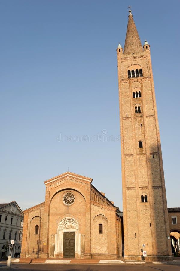 Forlì (Emilia-Romagna, Italië) - San Mercuria stock afbeelding