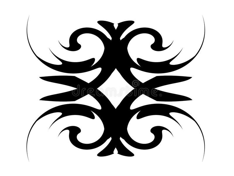 form royaltyfri illustrationer