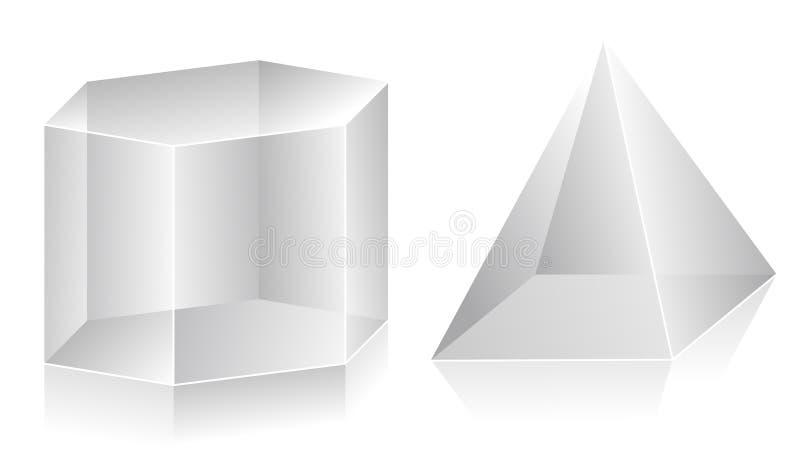 Form 3D stock abbildung