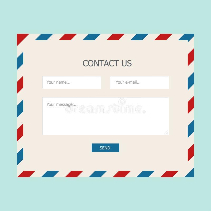 Form di risposte di web royalty illustrazione gratis