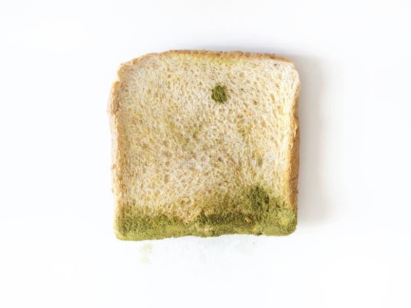 Form på isolerat bröd arkivfoton