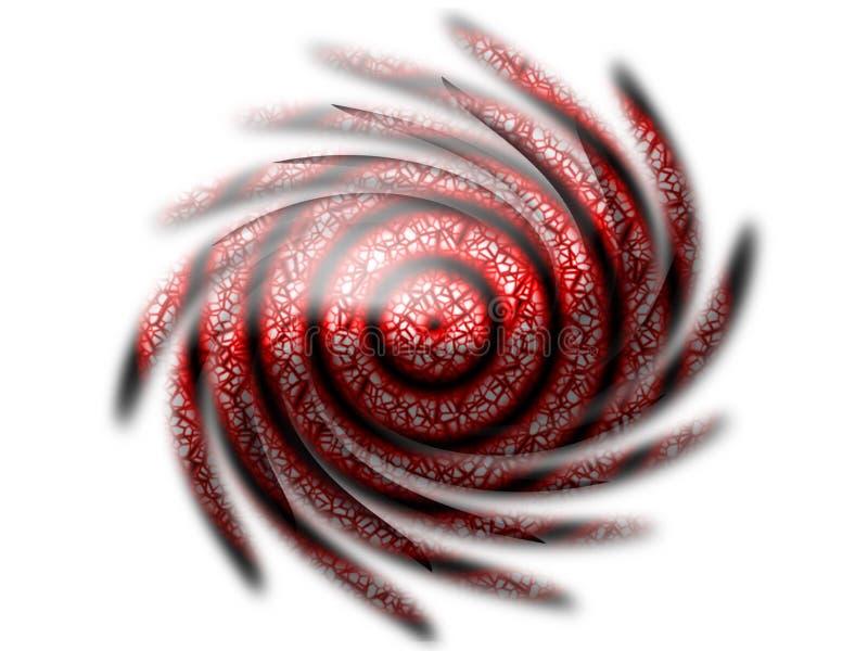 form som twirling vektor illustrationer