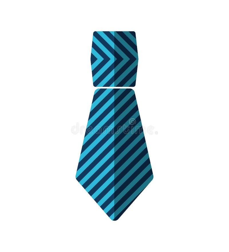 Form-Vatertag des Krawattenmannes geometrischer vektor abbildung
