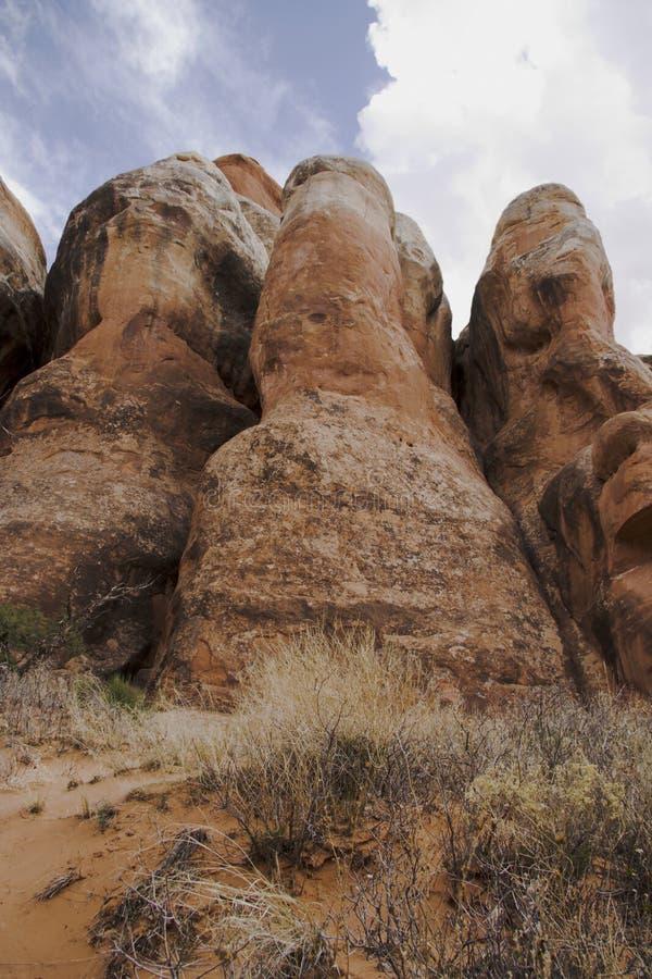 Formação de rocha C em Furn impetuoso foto de stock royalty free