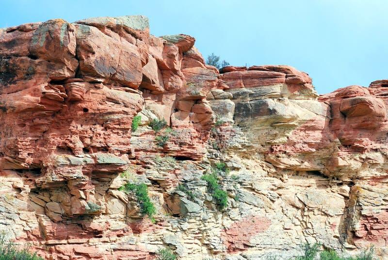 Formação de rocha da montanha imagens de stock royalty free