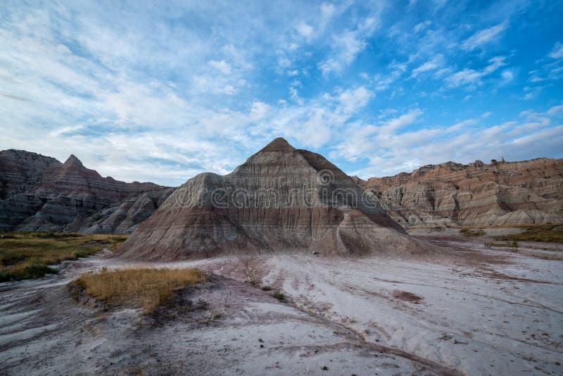 Formação de rocha da pirâmide no parque nacional do ermo foto de stock royalty free