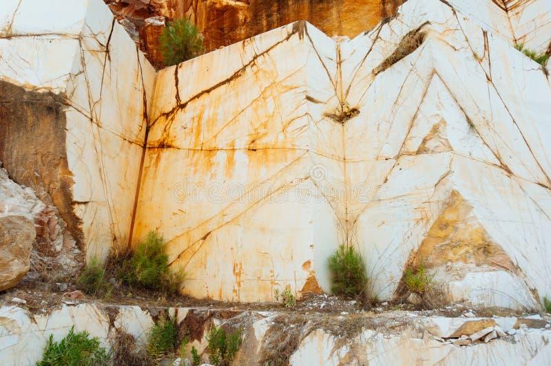 Formação de rocha de mármore imagens de stock royalty free
