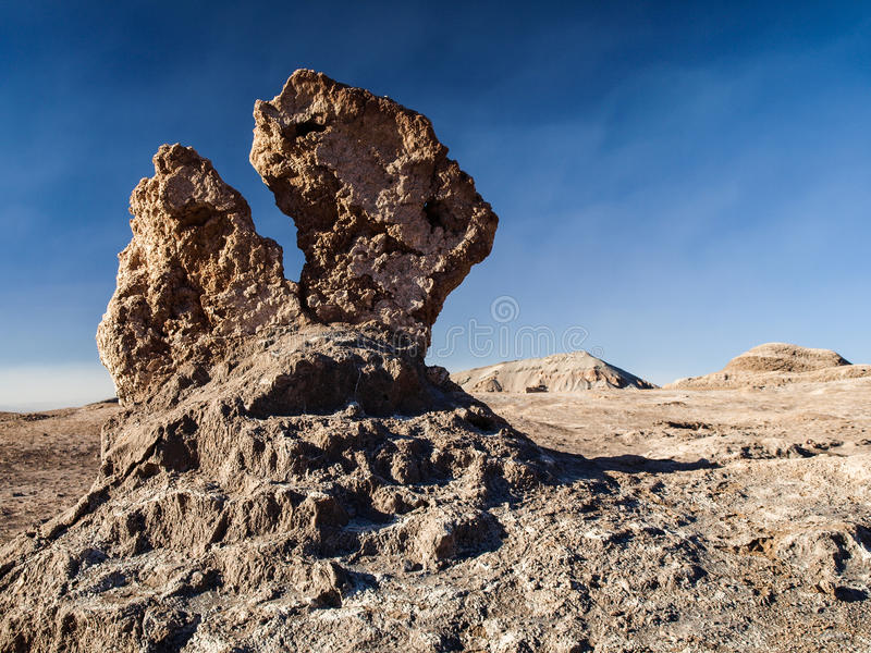 Formação de rocha estranha foto de stock