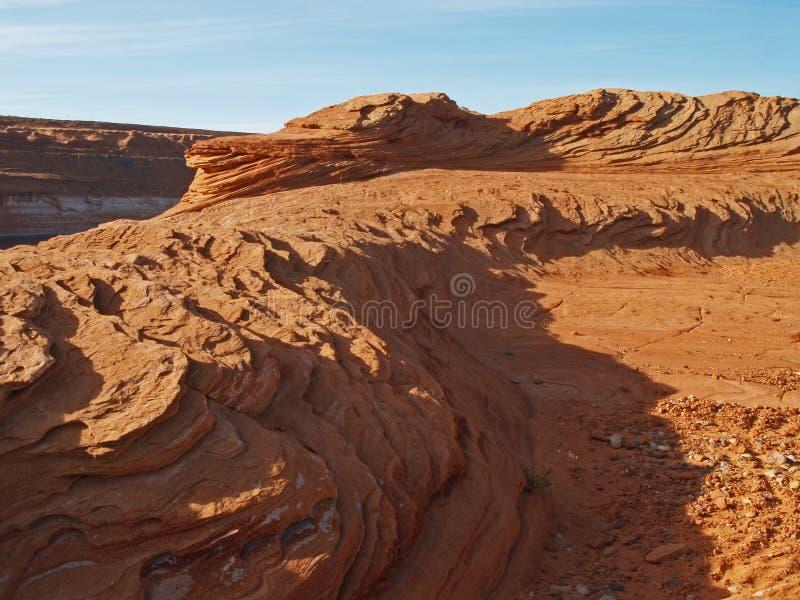 Formação de rocha na garganta do vale imagens de stock royalty free