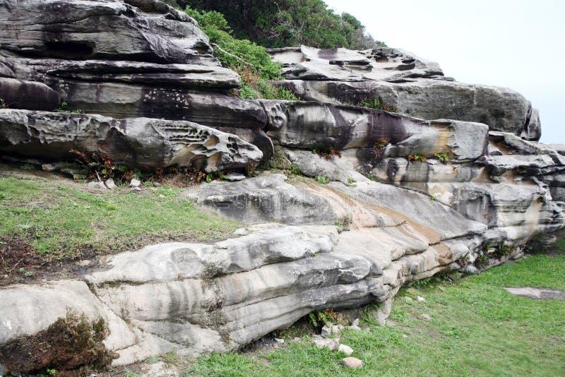 Formação de rocha natural imagem de stock