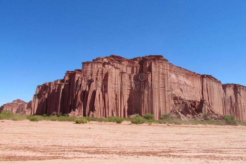 Formação de rocha vermelha imagens de stock royalty free