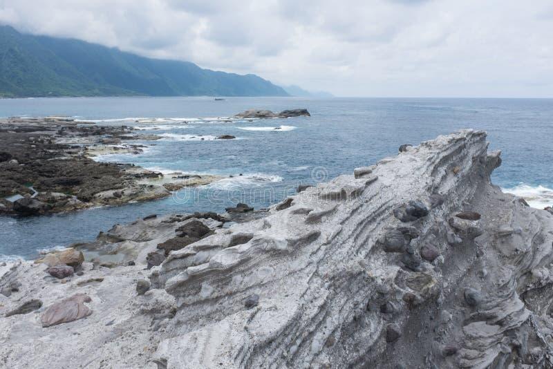 Formação de rocha vulcânica fotografia de stock royalty free