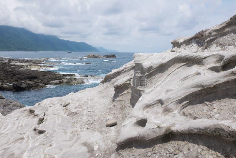 Formação de rocha vulcânica foto de stock