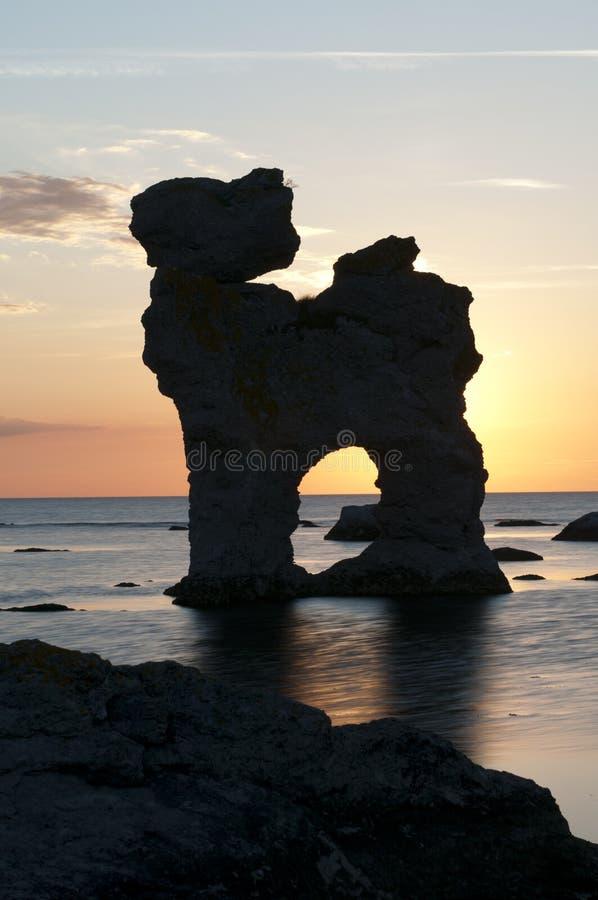 Formações da pedra calcária fotos de stock royalty free