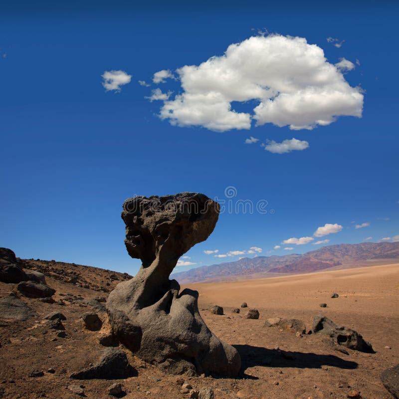 Formações da pedra de Califórnia do parque nacional de Vale da Morte fotos de stock
