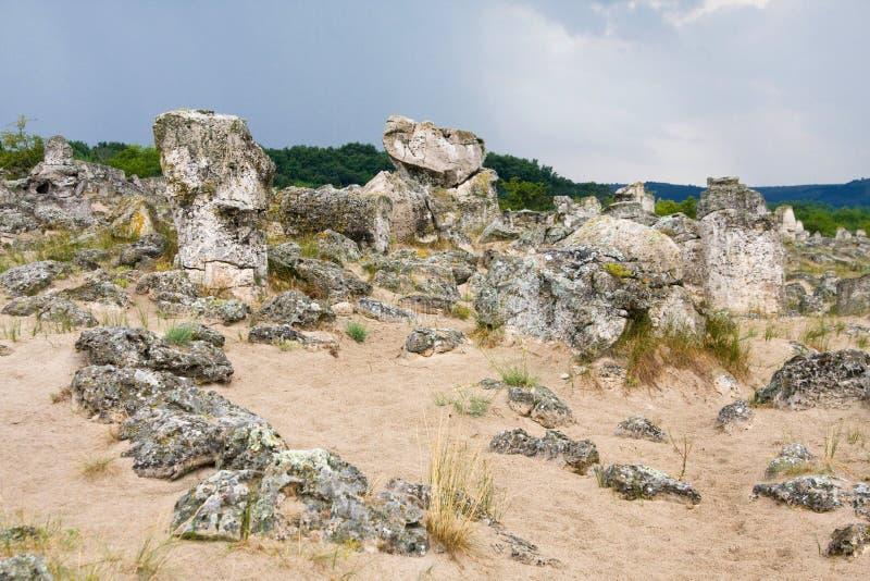 Formações de rocha imagem de stock