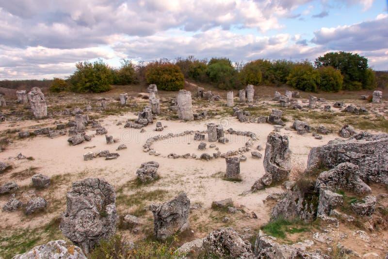 Formações de rocha do fenômeno fotos de stock royalty free