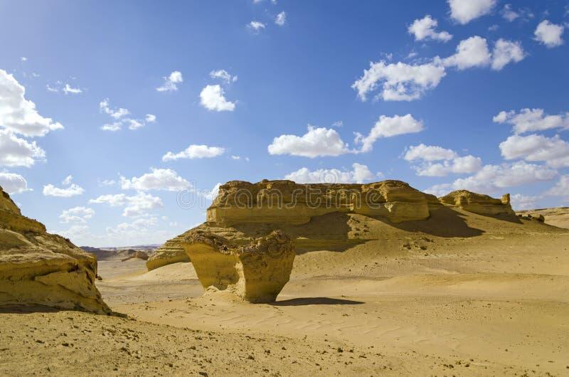 Formações rochosas do deserto fotografia de stock royalty free