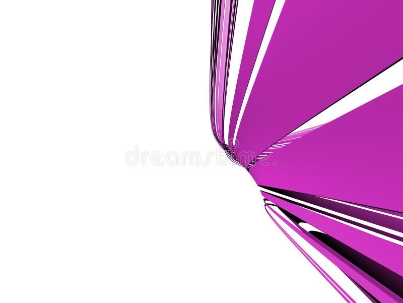 Forma abstracta ilustración del vector