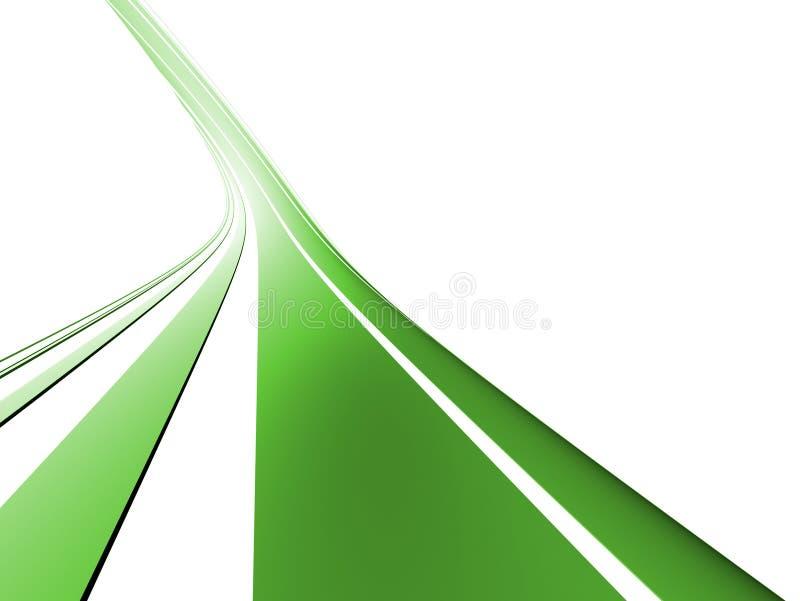 Forma abstracta stock de ilustración
