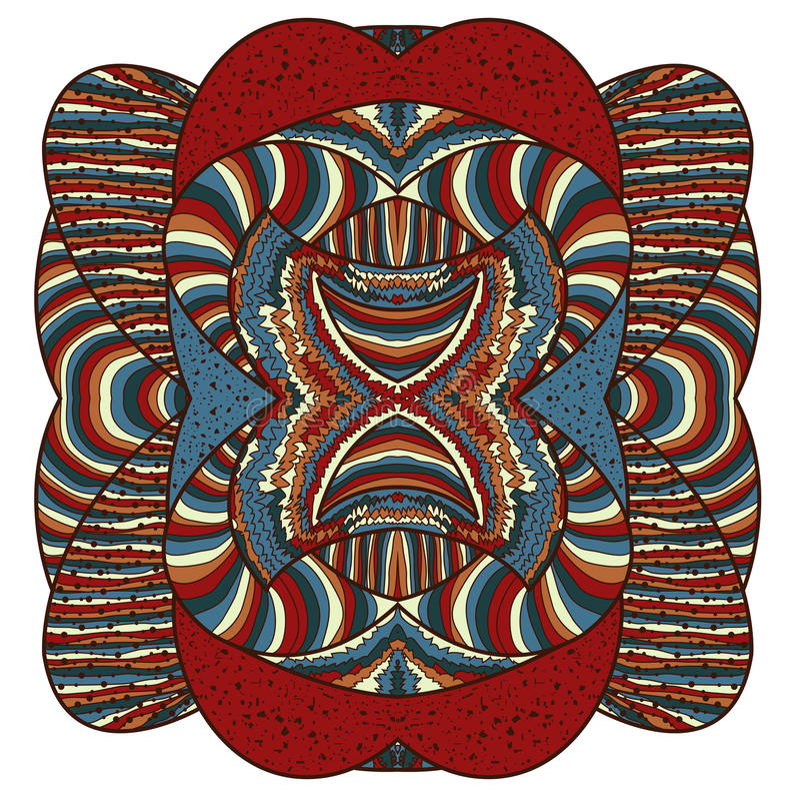 Forma abstracta colorida imagenes de archivo
