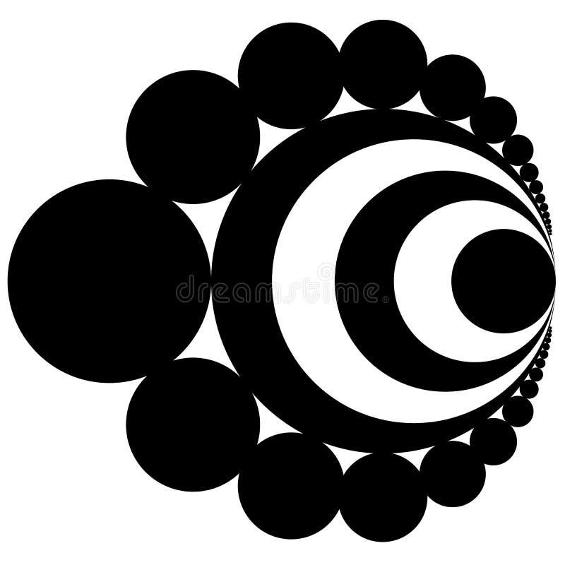 forma antiga geométrica do logotipo do sumário isolada ilustração do vetor