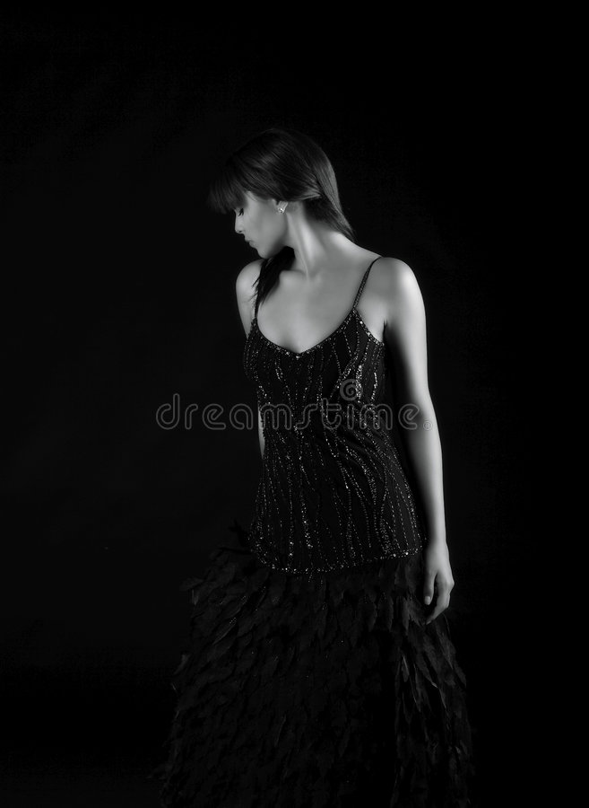 Forma bonita disparada da senhora latino-americano foto de stock