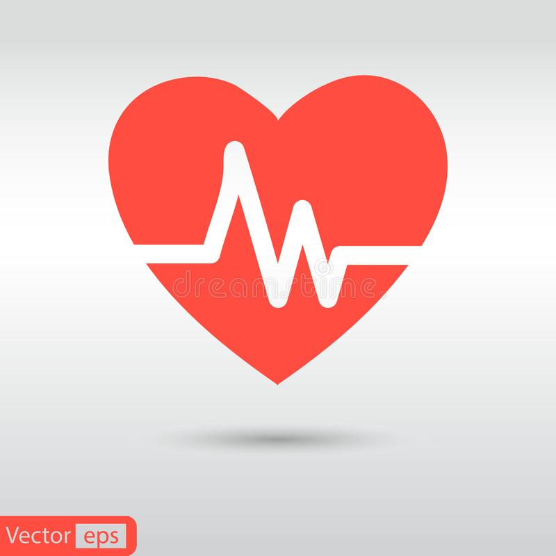 Forma cardiaca dell'esame dell'ecocardiografia di battito cardiaco di cuore e di battito cardiaco